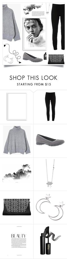 """""""Sweater Weather"""" by freida-adams ❤ liked on Polyvore featuring Bomedo, Elie Tahari, Skechers, Ana Accessories and INIKA"""