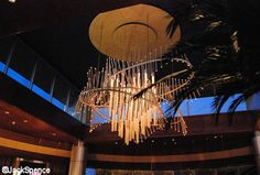 Top Of The World Lounge Chandelier Bay Lake Tower, Top Of The World, Orlando Florida, Hotels And Resorts, Walt Disney World, Fair Grounds, Chandelier, Lounge, Contemporary