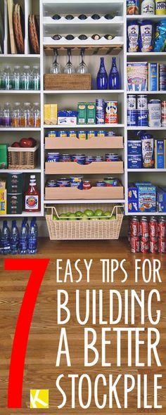 7 Easy Tips for Building a Better Stockpile