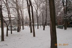 I kod nas pao prvi sneg-the first snow this winter