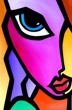 Accent - acrylic and oil by ©Tom Fedro - Fidostudio (via FineArtAmerica)