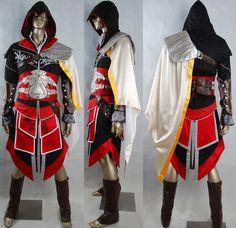 Oasis Costume Assassin's Creed Ezio cosplay costume Wetlands Ebony ivory costume