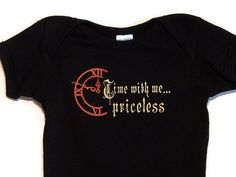 Steampunk Baby Onesie Time With Me Priceless