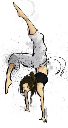 Capoeira Girl by ~Pinoy23 on deviantART