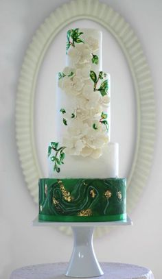 Wedding cake idea; F