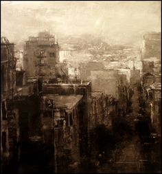 Compositions by Jeremy Mann... HE does amazing city scape art