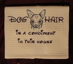 If you have a pet that sheds then you need this. At the most people will know that you know you are gross!! At the least it's cute :D Pets need love!! | See more about dog hair, cat hair and chihuahuas.