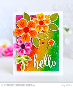My Joyful Moments: Flashy Florals May Kit Product Launch