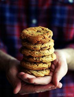 Cookies cioccolato al latte e arachidi
