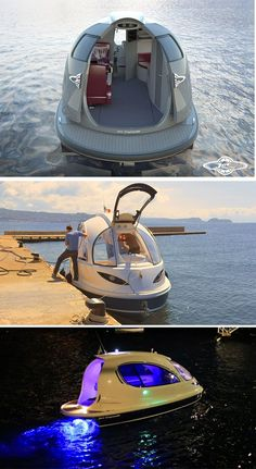 Cool Pool Floats, Build Your Own Boat, Yacht Boat, Mini Yacht, Boat Dock, Pontoon Boat, Water Toys, Boat Design, Cool Inventions