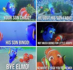 Finding Nemo...love Dory forever