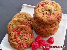 Cookies aux Pralines roses et aux amandes