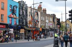 Candem Town, London.