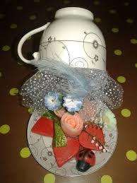 fincanda çiçek şelalesi yapımı ile ilgili görsel sonucu
