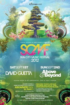 Sun City Music Festival 2012 [TICKETS] #elpaso #texas #edm David Guetta and Above & Beyond will perform during labor day weekend at the Sun City Festival.