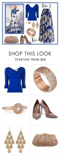 """Retro 10"" by kimmie-plus2 ❤ liked on Polyvore featuring Milly, FOSSIL, Roberto Coin, Dolce&Gabbana, Irene Neuwirth, Judith Leiber and Chicwish"