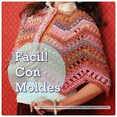 Mis Pasatiempos  Amo el Crochet: Capa de dama