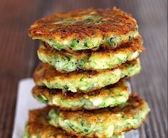 Recipe ZUCCHINI, FETA AND HERB FRITTERS GLUTEN FREE by Hungry And Fussy - Recipe of category Main dishes - vegetarian