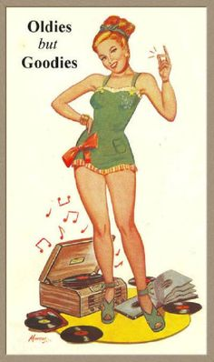Oldies but Goodies. #records #vinyl http://www.pinterest.com/TheHitman14/phonograph-kitsch/