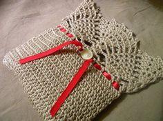 A Simple Pineapple Top Bag: free crochet pattern