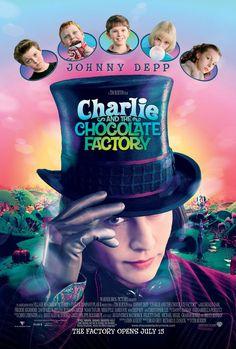 A Fantástica Fábrica de Chocolate (Charlie and the Chocolate Factory), 2005.