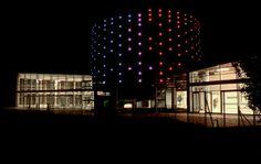 Flux lighting thermes o 39 balia centre thermale de balaruc for Piscine carpiquet