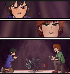 Hiro vs Hiccup--- BEST PIN EVER!!!!