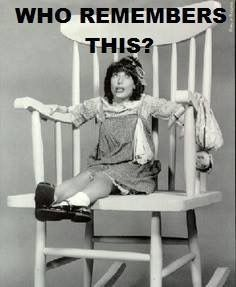 """Laugh-In's Edith Ann (Lily Tomlin) """"and that's the truth"""" My Childhood Memories, Childhood Toys, Sweet Memories, School Memories, 80s Kids, I Remember When, Old Tv Shows, Ol Days, Classic Tv"""