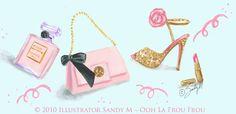 ooh la frou frou: Ooh La Frou Frou Novelette: Pink Valentine