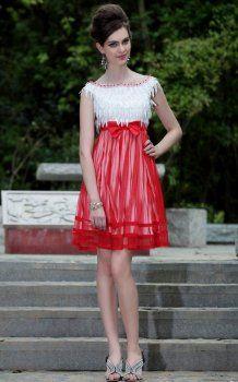 Leuke korte Galajurken Feestjurken rode jurken