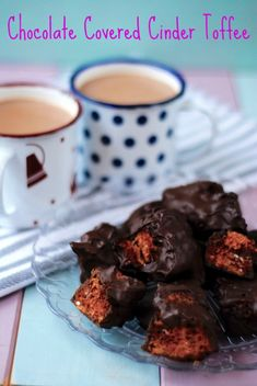Chocolate Covered Cinder Toffee