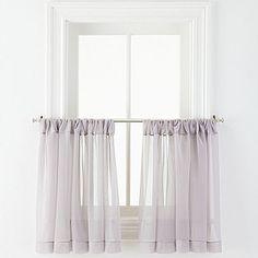 jcp | MarthaWindow™ Voile Rod-Pocket Window Tiers