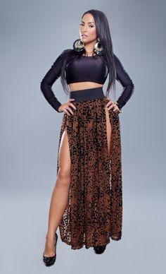3a0838fdc8 Double High Slit Maxi Dress | High Split Maxi Dress |  hotstylesbringsmiles.com