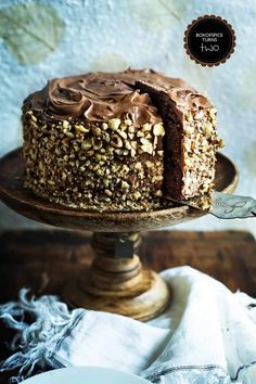 Chocolate Hazelnut Kahlua Cake