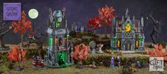 Love Gothic architecture?? Take a look at Gift Spice's Gothic Galore collection!