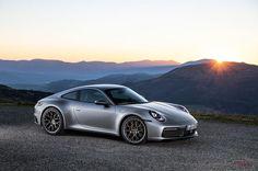 The 2020 Porsche 911 has finally been revealed in Carrera S and trim. Find out how Porsche improved its sports car icon right here! Porsche Carrera, Audi A7, Porsche 911 Turbo, Porsche Cars, Porsche 2019, Black Porsche, Lamborghini Gallardo, Ferrari 458, Cool Sports Cars
