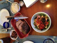 Easter Dinner 2013 Easter Dinner, Food N, Beef, Meat, Steak