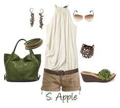 """All Natural"" by sapple324 ❤ liked on Polyvore featuring Børn, Wet Seal, Theory, Juicy Couture, Isabel Marant, Givenchy and 1928"