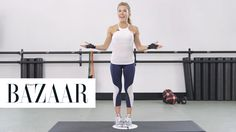 6 Moves to Lift and Tone Your Butt: BAZAAR teamed up with Anna Kaiser from AKT InMotion to get the best moves for a tight, toned butt.