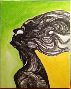 """""""Into Smoke"""" oil painting  www.ARTbyJSP.com Smoke, Painting, Oil, Painting Art, Paintings, Painted Canvas, Smoking, Acting, Butter"""