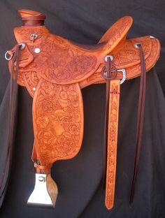 I just discovered Frechers saddles while watching Reata Brannaman at Buck's clinic in Cle Elum.