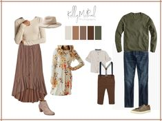 Fall Family Picture Outfits, Spring Family Pictures, Family Picture Colors, Family Portrait Outfits, Family Photos What To Wear, Fall Family Photo Outfits, Family Pics, Family Photo Clothing, Fall Photos