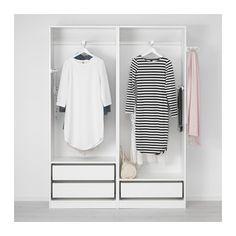 """PAX Wardrobe - 59x17 3/8x79 1/4 """", - - IKEA"""