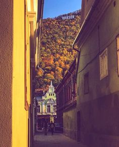 Autumn is back in Brasov, Transylvania The Places Youll Go, Places To Go, Brasov Romania, Transylvania Romania, Romania Travel, Mountain Resort, Modern City, Bucharest, Best Cities