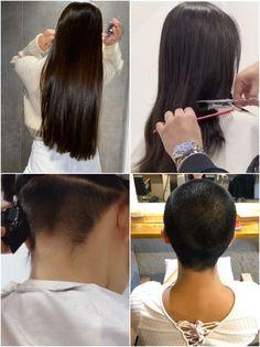 Hair Transformation, Pixie Haircut, Pixie Cut, Barber Shop, Shaving, Hair Inspiration, Hair Cuts, Hair Color, Floor