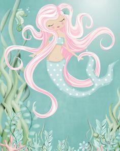 Under The Sea Art Print by madebykale Under The Sea Drawings, Under The Sea Clipart, Art Shed, Sea Illustration, Kids Room Wall Art, Sea Art, Art Drawings, Painting Illustrations, Art For Kids