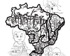 Cartaz da CF 2017 versão crianças para colorir