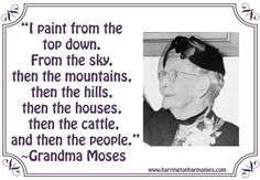 Grandma Moses for Kids - Cycle 3 Week 13