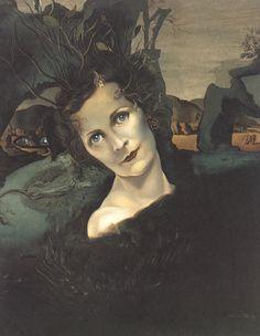 'Lady Louis Mountbatten', 1940  - Salvador Dali