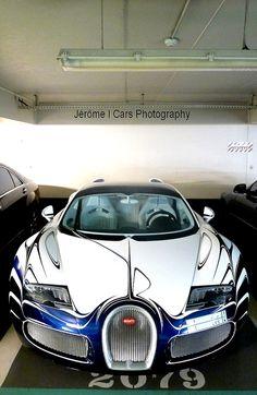 "Bugatti Veyron Grand Sport "" L'or Blanc """